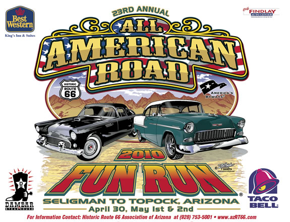 24th ANNUAL ROUTE 66 FUN RUN, seligman, angel delgadillo