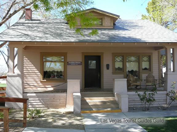 The Clark County Heritage Museum, Las Vegas Tourist Guides Guild