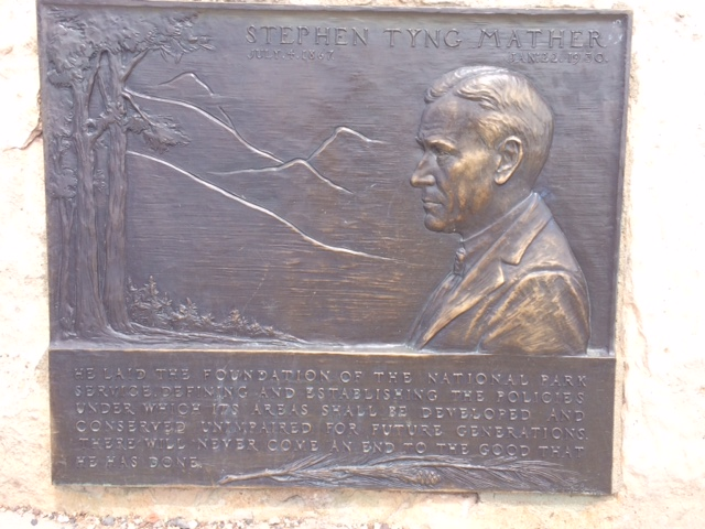 Stephen Mather, Natl. Park Service