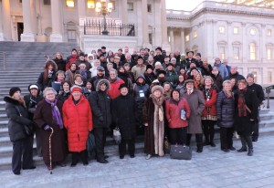 NFTGA conference members at the US Capitol, January 2016
