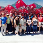 LVTGG Members on DTLV walking tour